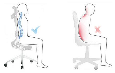 ¿Dolor de espalda por estar mucho tiempo sentado?