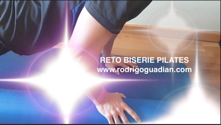 Vídeo: Reto Biserie de Pilates